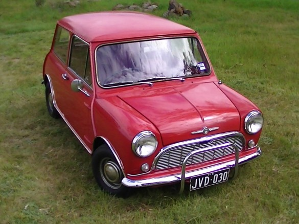 1967 mini morris truck - photo #18