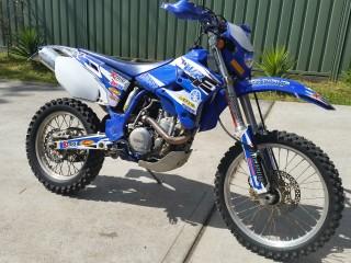2003 Yamaha 449cc WR450F