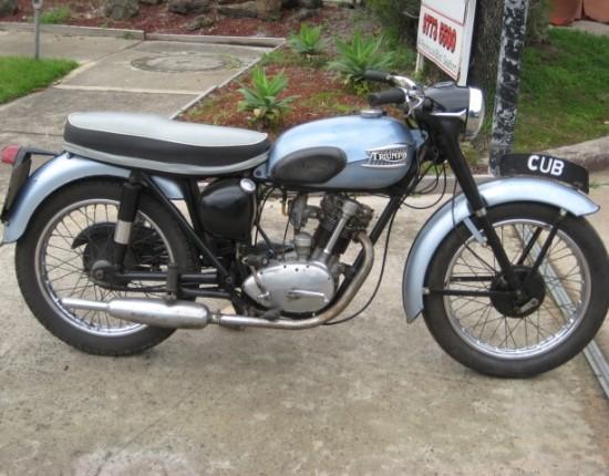 1960 triumph t20 tiger cub