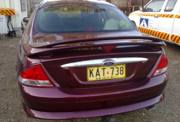 2000 Ford AU Fairmont Tickford  Bu44ri  Shannons Club