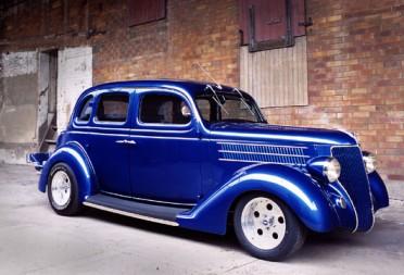 1936 ford hot rod humpback 4 door all steel sedan groova for Garage n4 auto duppigheim