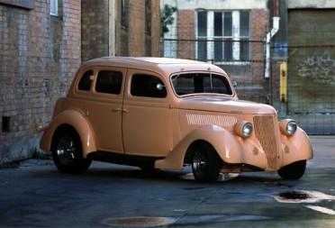 Sell My Car Online >> 1936 Ford Hot Rod Humpback 4 door all Steel sedan - Groova - Shannons Club