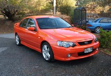 2004 ford xr6 gtpower shannons club for Garage ford orange