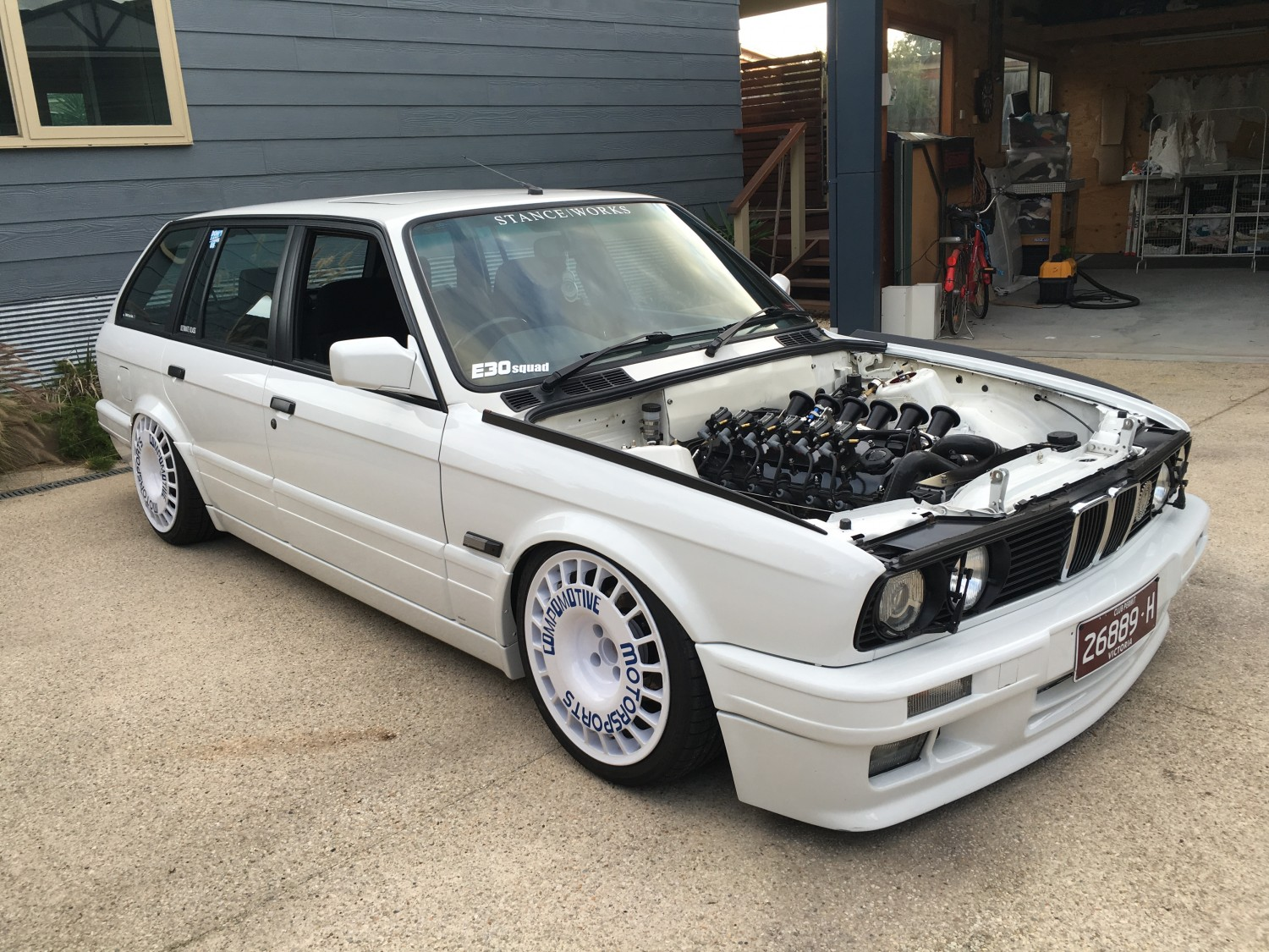 1988 Bmw E30 325i Touring Show Amp Shine Shannons Club