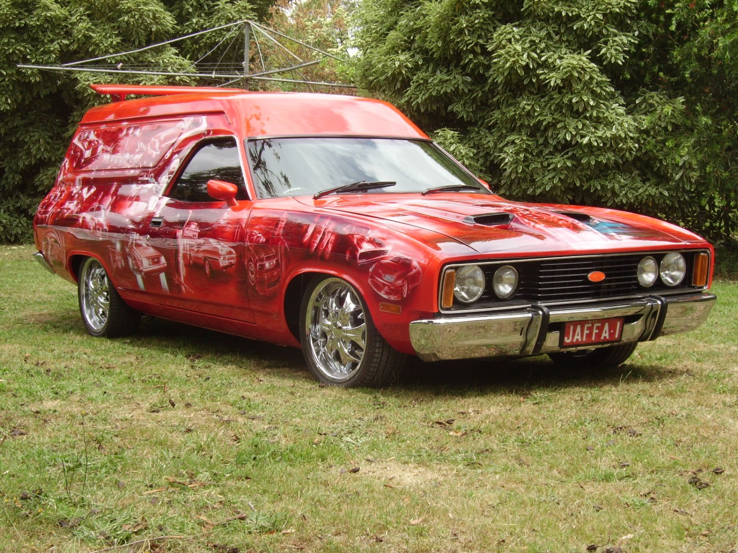 1977 Ford xc sundowner panelvan - Show & Shine - Shannons Club