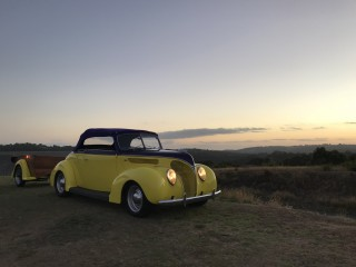 1938 Ford Deluxe Club Roadster