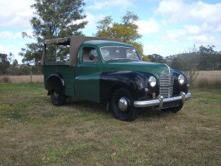 1949 Austin a70 Hampshire.