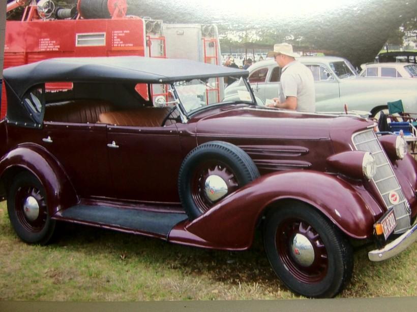 1934 OLDSMOBILE HOLDEN BODY TOURER F34