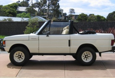 1978 Range Rover Convertible 2 Door Johnhay Shannons Club