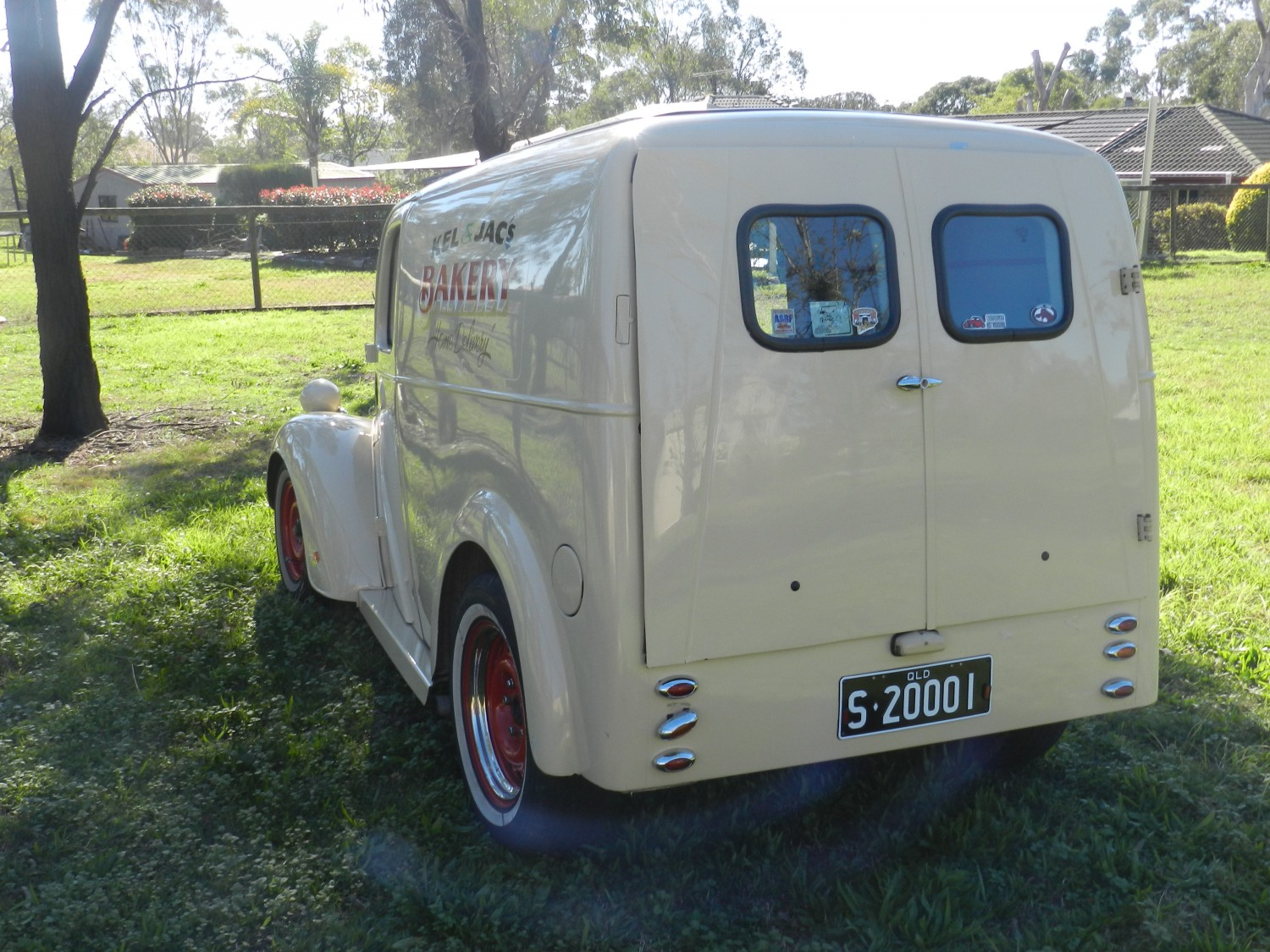 1948 Ford Anglia Panel Van