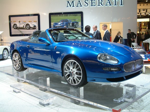 2005 maserati gransport spyder 90th anniversary. Black Bedroom Furniture Sets. Home Design Ideas