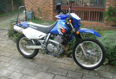2007 Suzuki Dr650 Janet Shannons Club