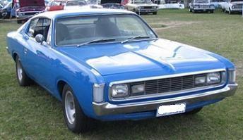 1972 Chrysler Valiant Charger