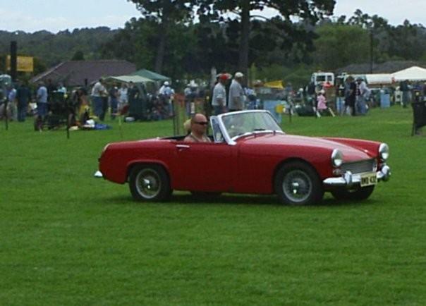 1966 Austin Healey Mk3a Sprite