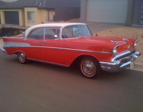 1957 chevrolet belair 4 door hardtop galant2074 for 1957 chevy belair 4 door hardtop