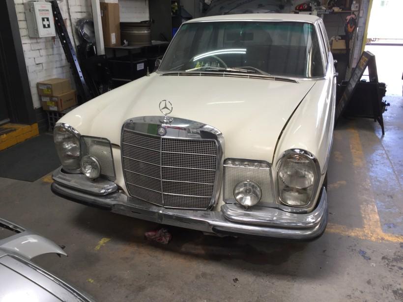1966 Mercedes-Benz 250se