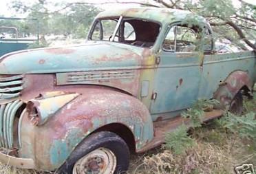 1946 Chevrolet holden body coupe ute - malfunction470 ...