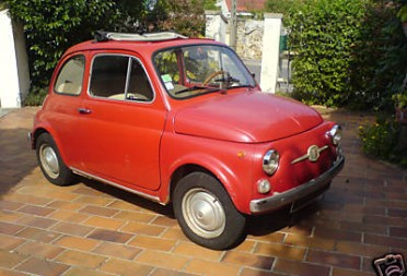 1966 fiat 500 f beenjaamiin shannons club for Garage fiat 94