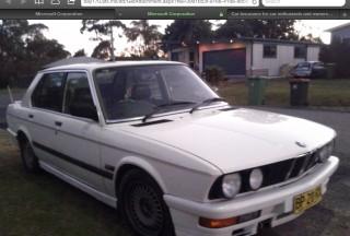 1987 BMW E28 M535I Motorsport