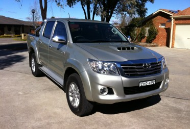 Car Insurance Quote Online >> 2012 Toyota HILUX SR5 (4x4) - BladeRunner - Shannons Club