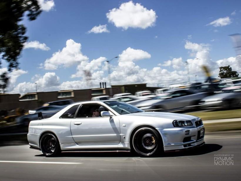 2001 Nissan R34 GT-R Skyline