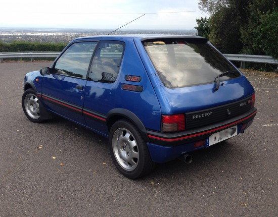 1992 peugeot 205 gti pugenthu shannons club for Housse 205 gti