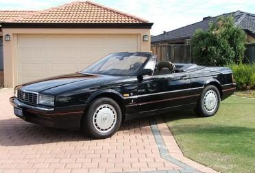 1989 Cadillac Allante Reccie Shannons Club