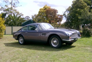 1969 Aston Martin DB6 Mk2