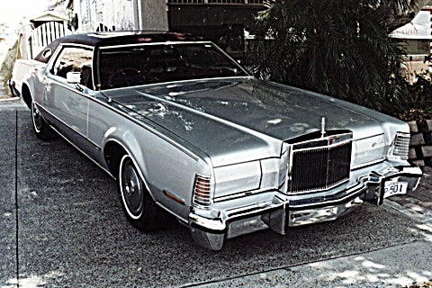 1974 lincoln continental mark iv silvermk4 shannons club. Black Bedroom Furniture Sets. Home Design Ideas