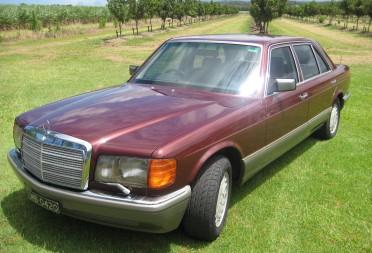 1988 mercedes benz 420 sel rusty58 shannons club for Garage mercedes 94