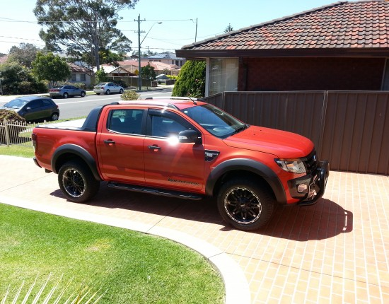 Ford ranger 2012 modified