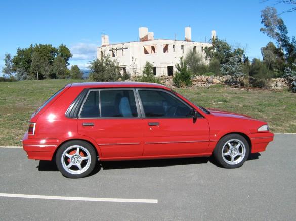 1990 Nissan N13 Pulsar Huskysrt Shannons Club