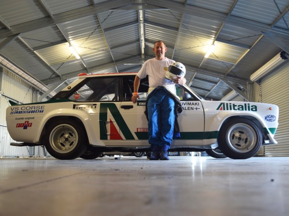 1976 Fiat 131 Abarth Group 4 Group4racing Shannons Club
