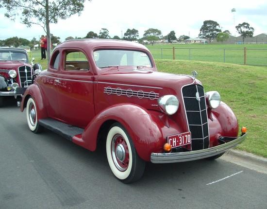 1935 Plymouth Pj 35pj Shannons Club