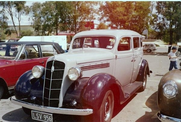 1935 plymouth PJs