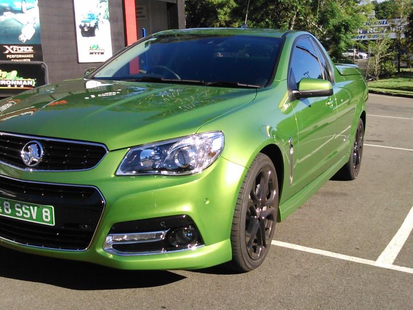 2015 Holden SSV REDLINE