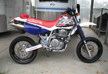 1995 Honda XR600R - Bear - Shannons Club