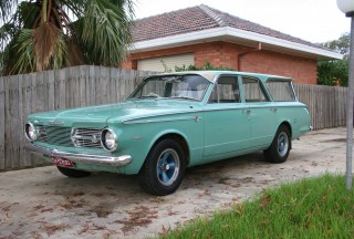 1965 Valiant AP6 Safari
