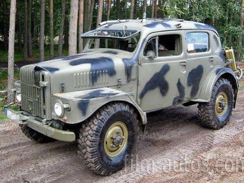 A cool Volvo: TP21 4x4 Military Vehicle - Shannons Club