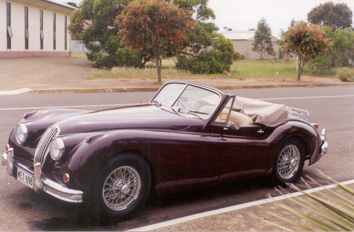 1954 Jaguar XK 140 drop head coupe
