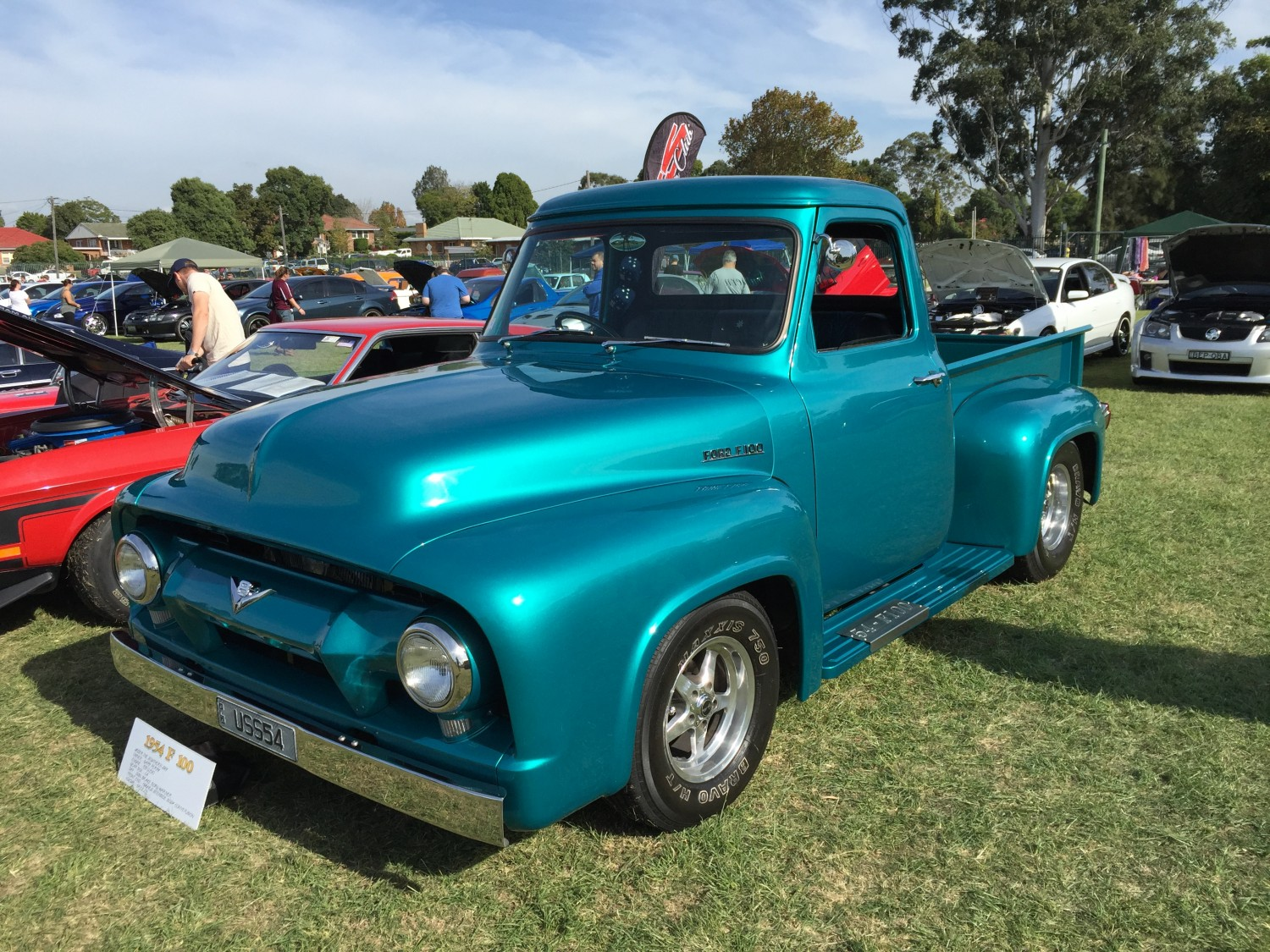 1954 Ford F100 Show Shine Shannons Club Pick Up
