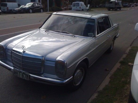 1974 mercedes benz 280c theenthusiast shannons club for 1974 mercedes benz 280