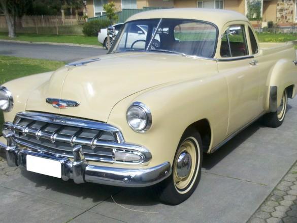 1952 Chevrolet Coupe Utility - kevz8 - Shannons Club