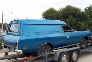 1977 Chrysler Valiant CL V8  4 Speed Sportspack Panel Van