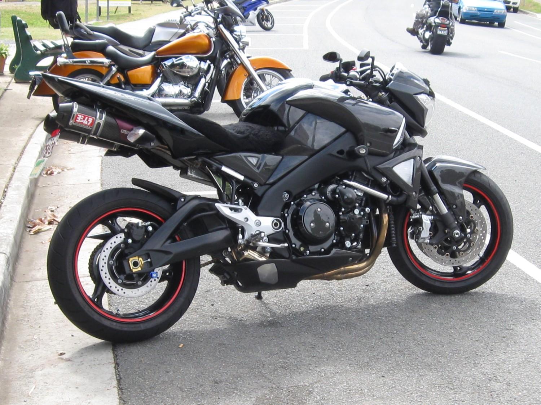2008 Suzuki B-King - Blacky - Shannons Club