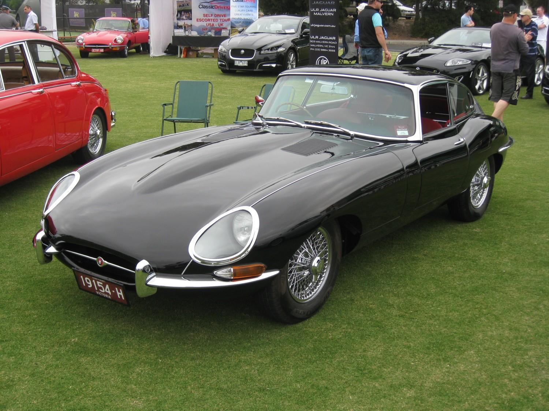 1963 Jaguar E Type Blacke Shannons Club