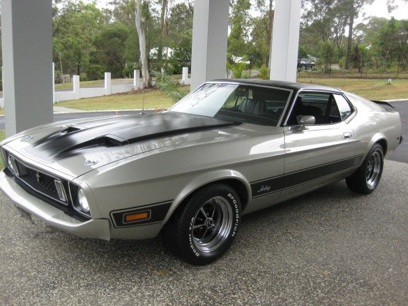 1972 Ford Mustang Mach 1 Reg Shannons Club
