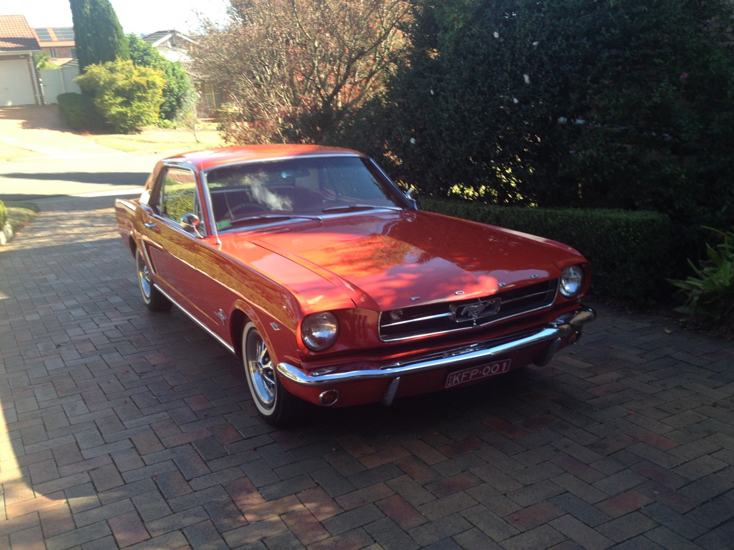 1964 ford mustang 260ci f code