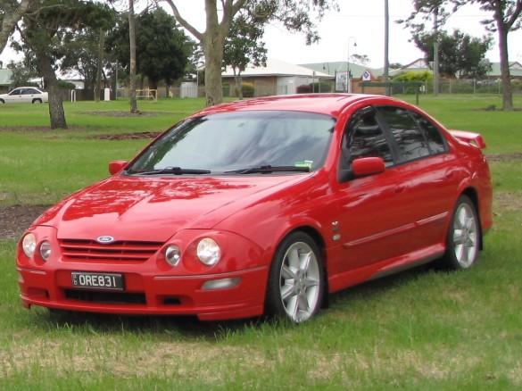 2001 Ford Tickford Xr8 Au Falcon Rebel Fordlover Shannons Club