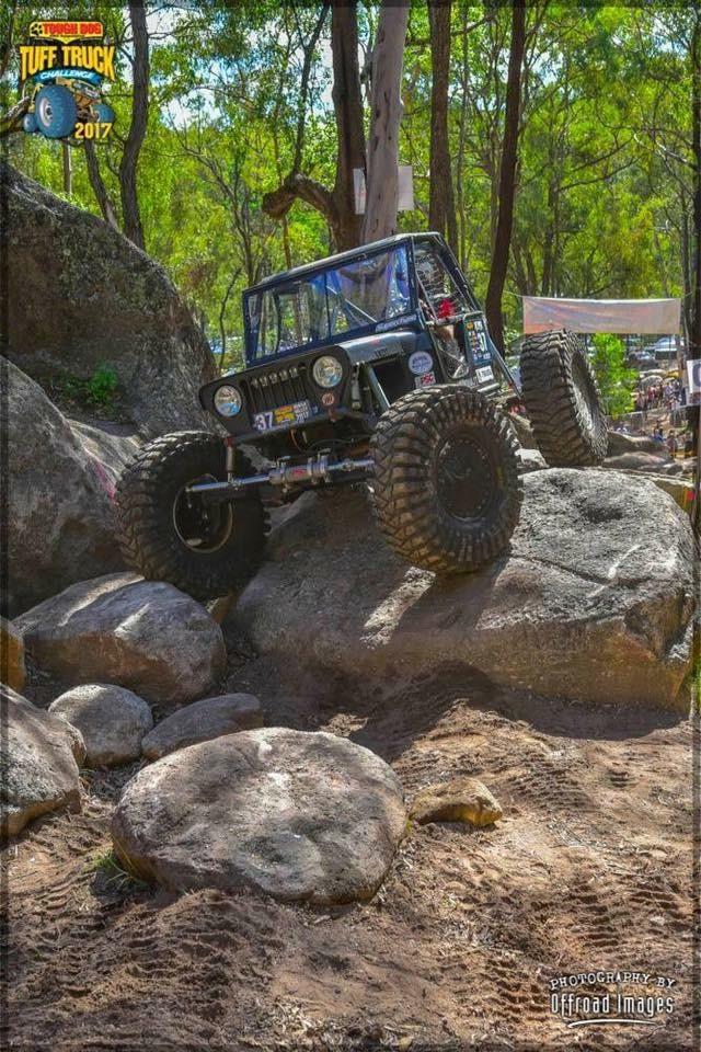 1945 Rock crawler buggy Cj2